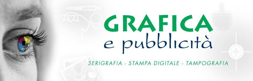 Grafica del nostro logo ( Grafica e Pubblicità )con filigrana di alcuni nostri servizi.